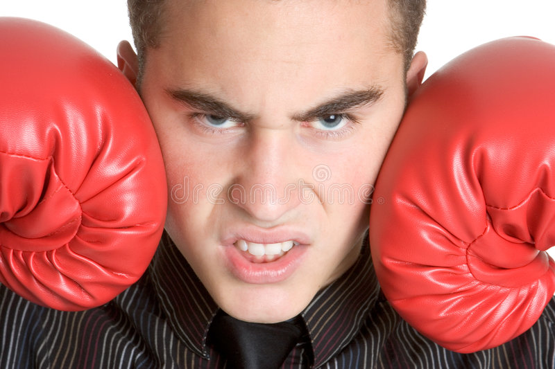 Download Mean Man Royalty Free Stock Images - Image: 5248529