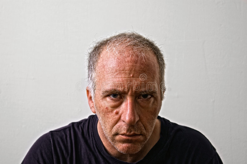Download Mean man stock photo. Image of definition, convict, intense - 6632128
