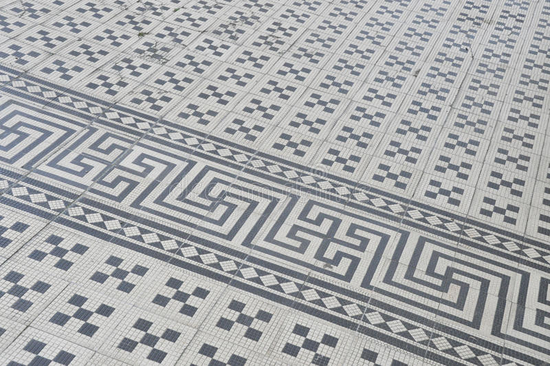 Download Meander Vintage Ceramic Tiles Royalty Free Stock Photos - Image: 14124798
