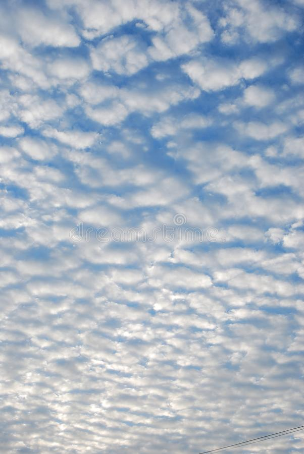 Meandering Summer Clouds. Skyscape, evening, heaven, heavenly, 2019, august stock images