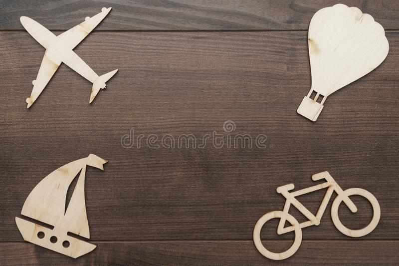 Means of transport concept stock photography