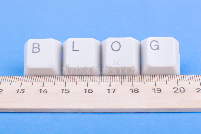 Download Measure blog rating! stock image. Image of technology - 9596087