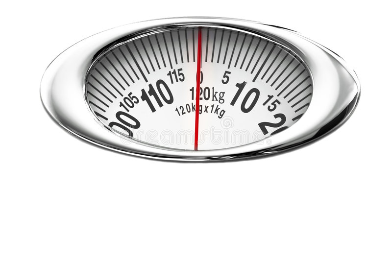 Measure scale isolated on white stock images