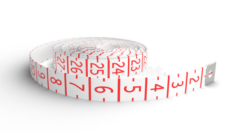 Download Measure tape stock illustration. Image of concept, measure - 26788016