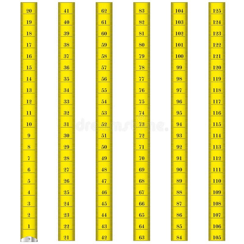 Measure tape stock illustration
