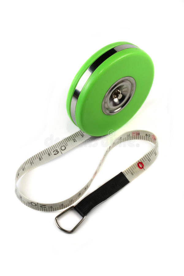 Download Measure tape isolated stock photo. Image of handyman - 12122072