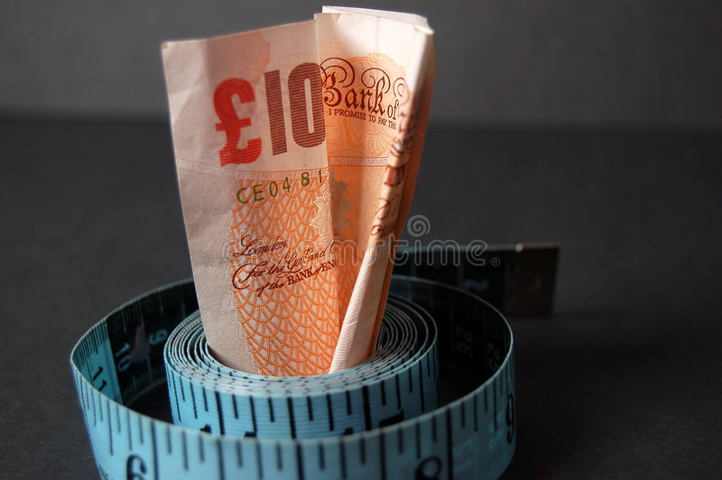 Download Measured Cost 2 stock photo. Image of even, diet, money - 726278