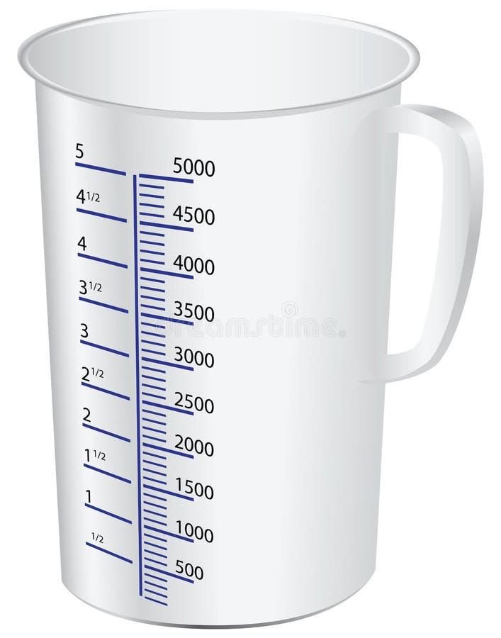 Measuring Cup Fotografia Stock
