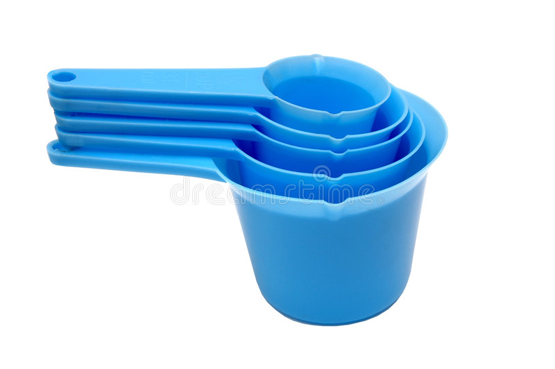 Measuring Cup Set royalty free stock photo
