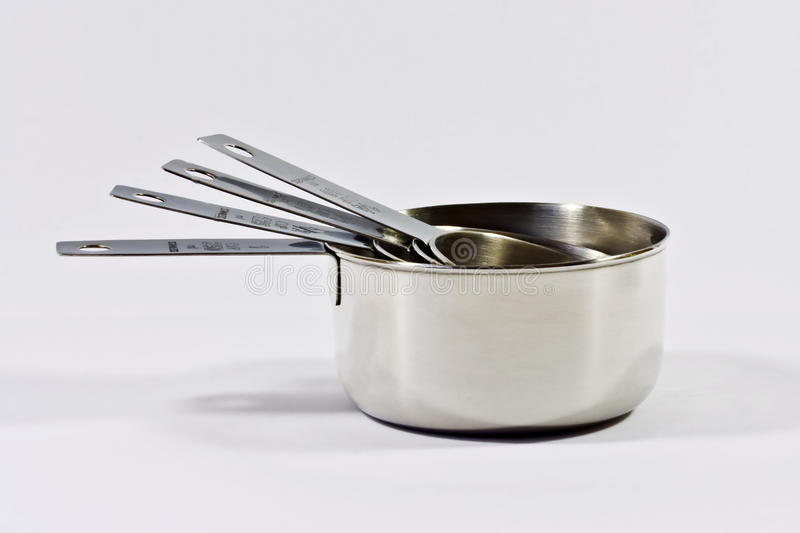 Measuring cups stock images
