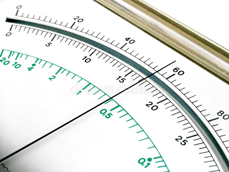 Measuring device display stock images