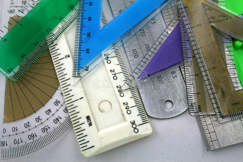 Measuring devices royalty free stock photography