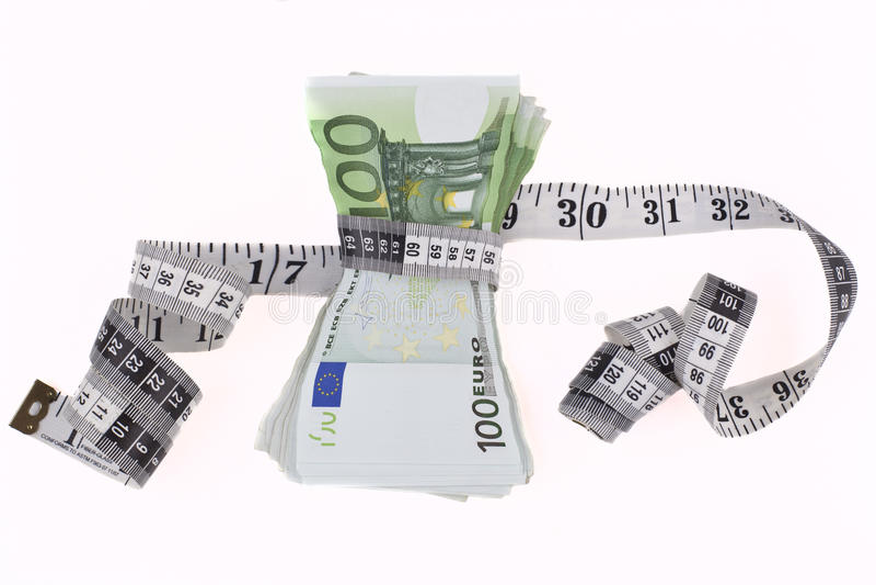 Download Measuring Euros stock photo. Image of business, debt - 32398540