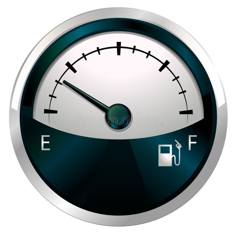Download A measuring gauge stock illustration. Illustration of circle - 36838336