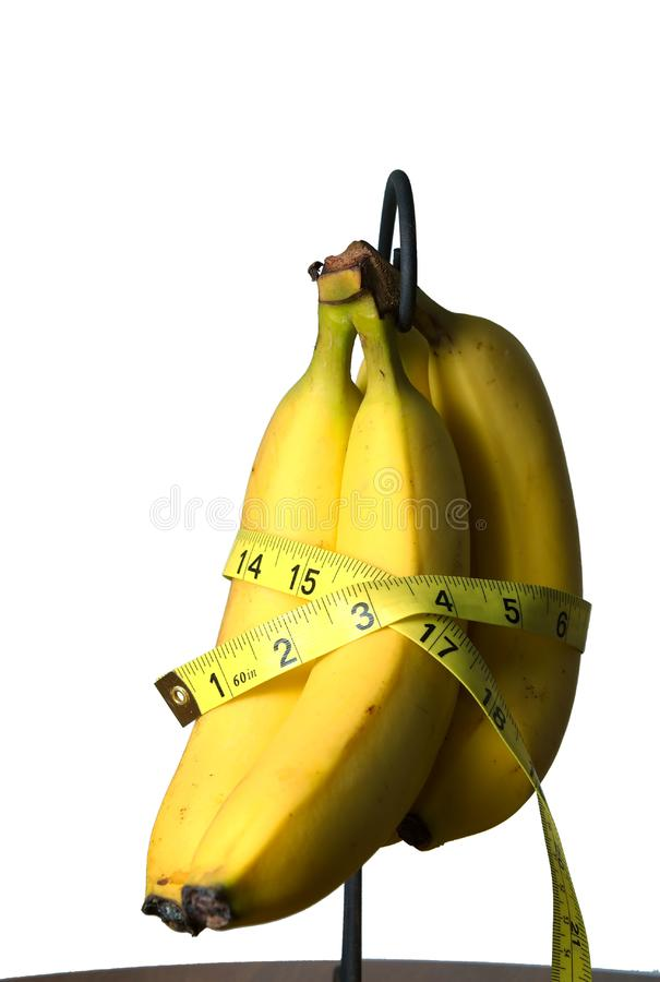 Measuring health. royalty free stock image