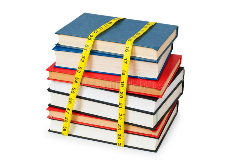 Measuring the knowledge royalty free stock images