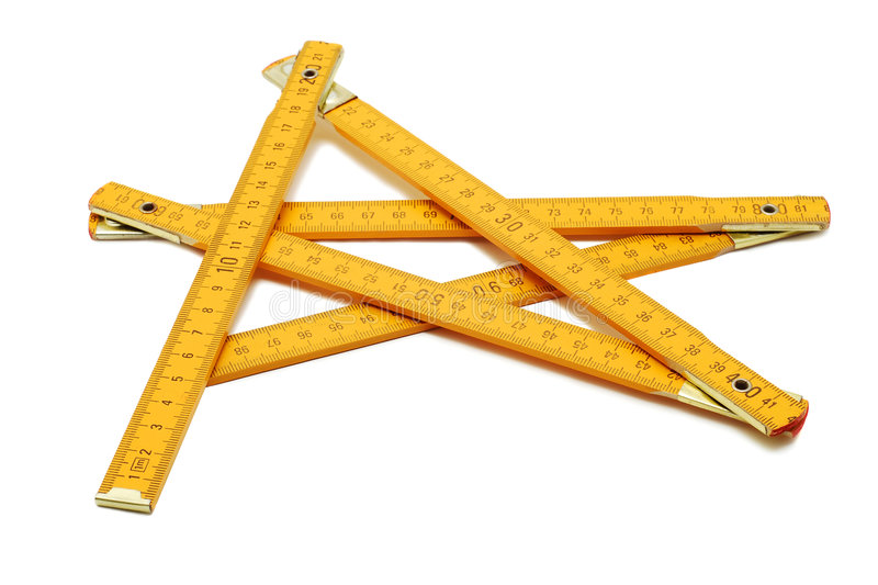 Measuring ruler royalty free stock image