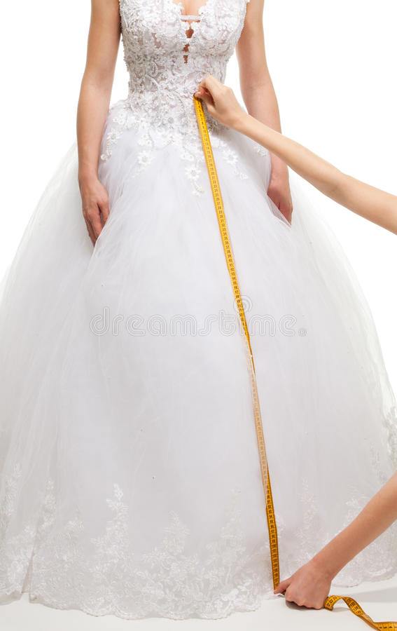 Download Measuring The Size Of Skirt Stock Image - Image: 18149981