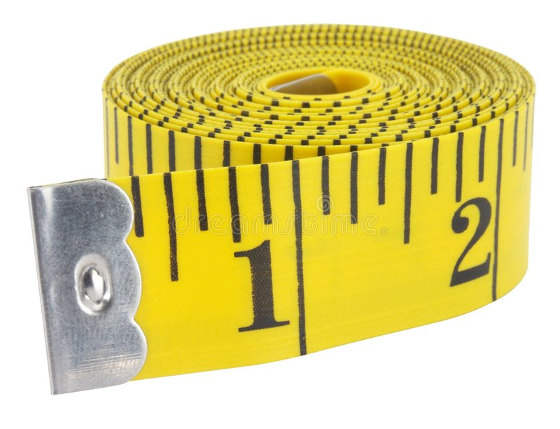 Measuring Tape 1 royalty free stock photo