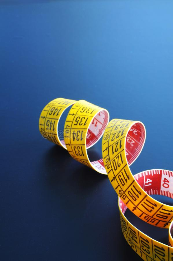 Download Measuring tape stock image. Image of tape, blue, macro - 14861897