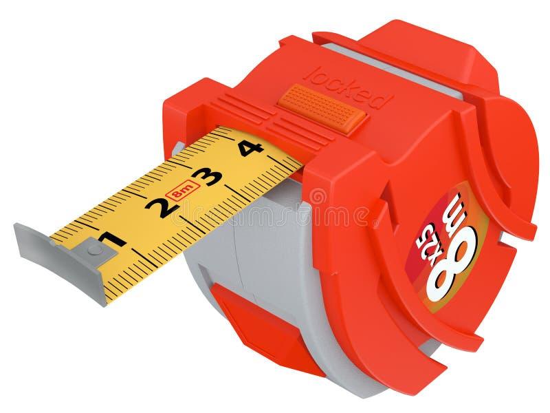Download Measuring tape stock illustration. Image of manual, tape - 25462858