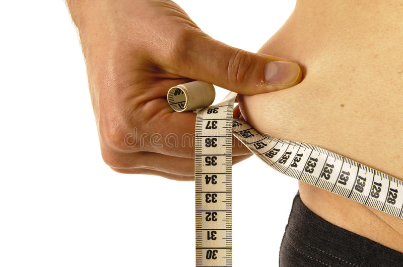 Download Measuring tape stock image. Image of single, naked, healthy - 28954621