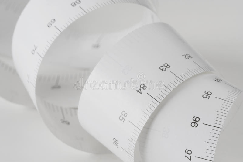 Measuring Tape - Centimeters II Royalty Free Stock Photos