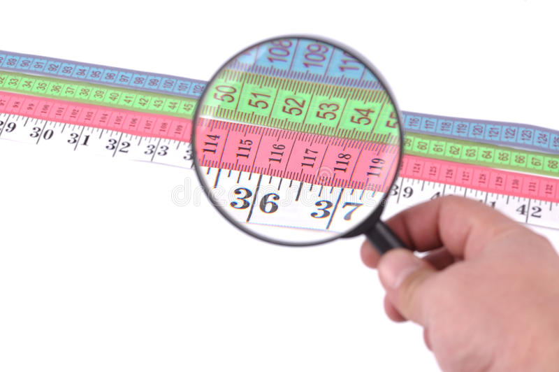 Measuring tape close up royalty free stock photography