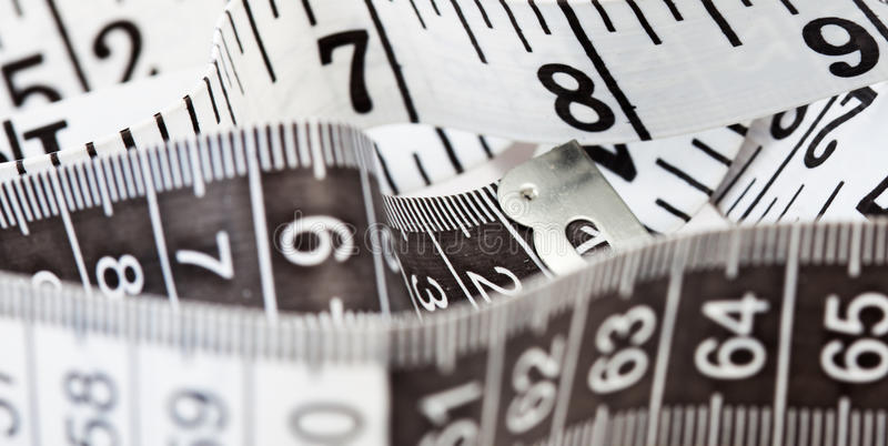 Download Measuring Tape, Symbol Of Tailoring And Diets Stock Photo - Image: 36449574