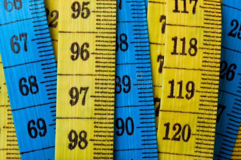 Download Measuring tapes stock image. Image of breadth, length - 19712041