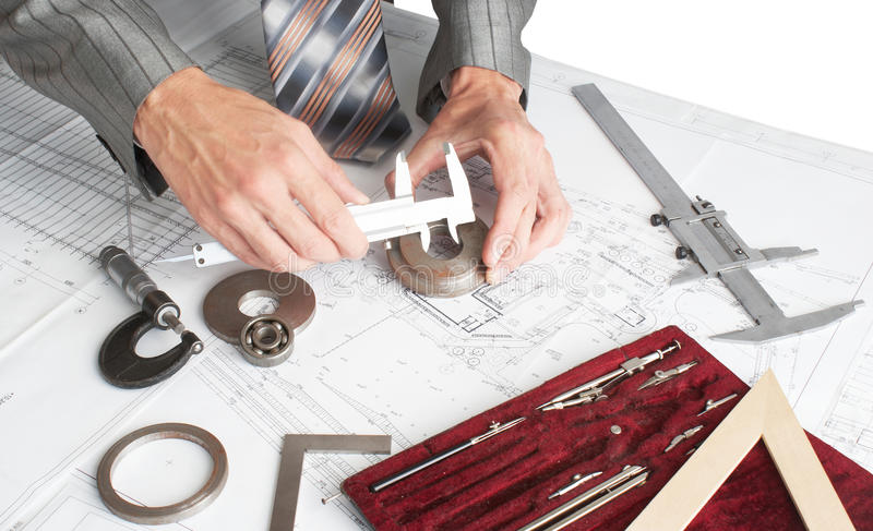 The Measuring Tool Stock Image