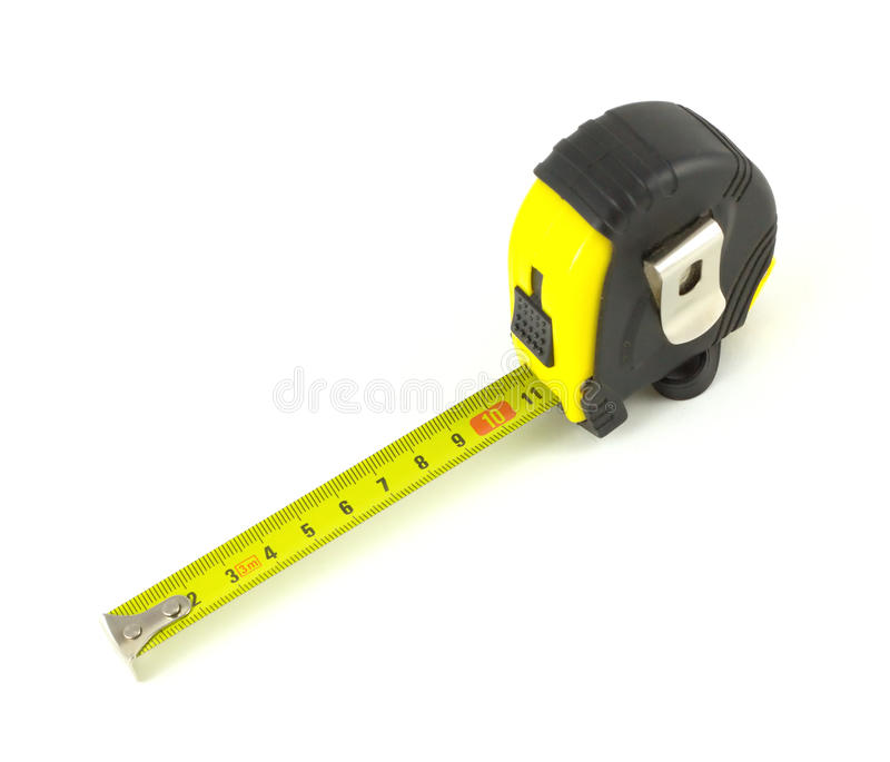 Download Measuring Tool Isoalated Over White Close Up Stock Photo - Image of plastic, still: 33797064