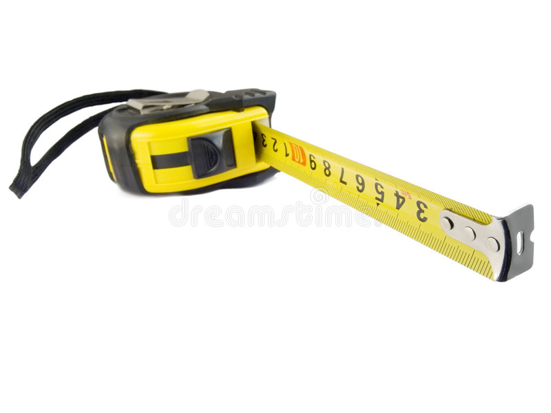 Download The Measuring Tool A Roulette Stock Image - Image of long, plastic: 1776137