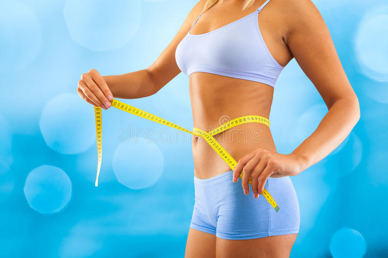 Download Measuring waist stock photo. Image of hand, holding, fitness - 26762010