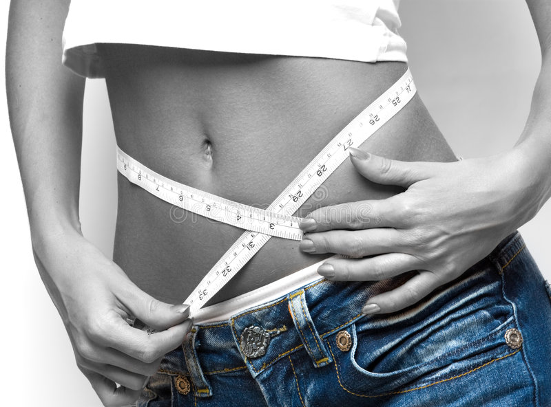 Download Measuring waist stock photo. Image of calories, measurement - 8551892