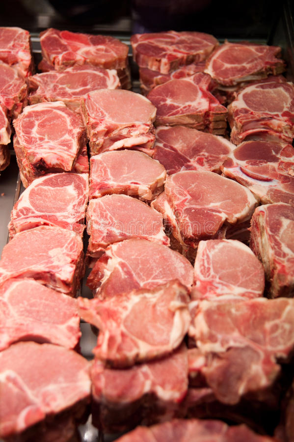 Download Meat stock image. Image of meats, pieces, swine, butcher - 21070159
