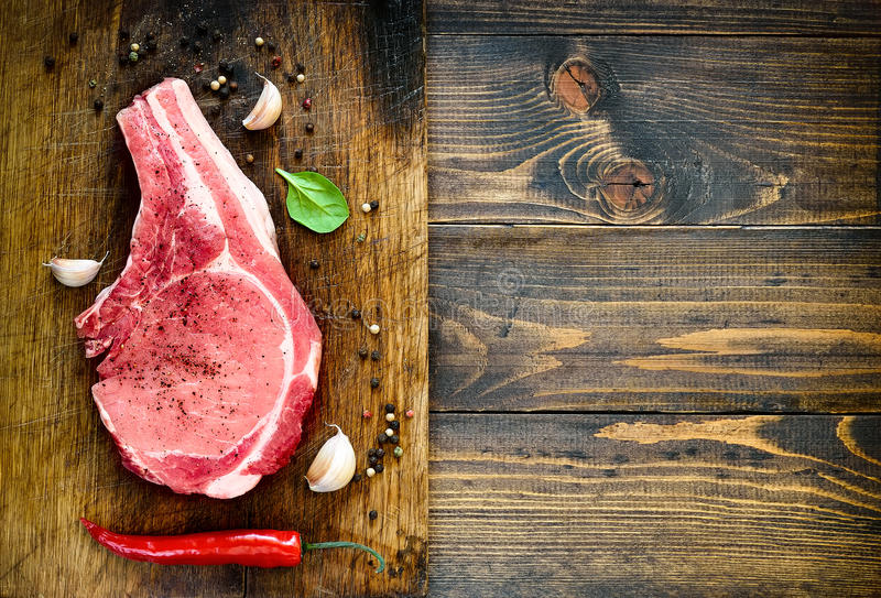 Meat background stock photos