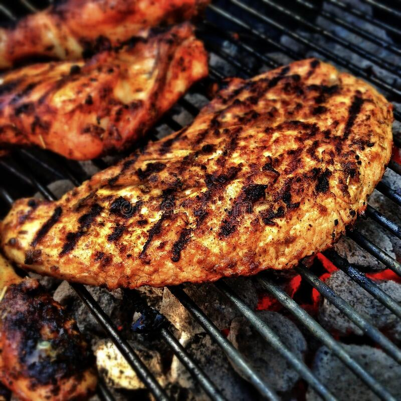 Meat On Barbecue Grill Free Public Domain Cc0 Image