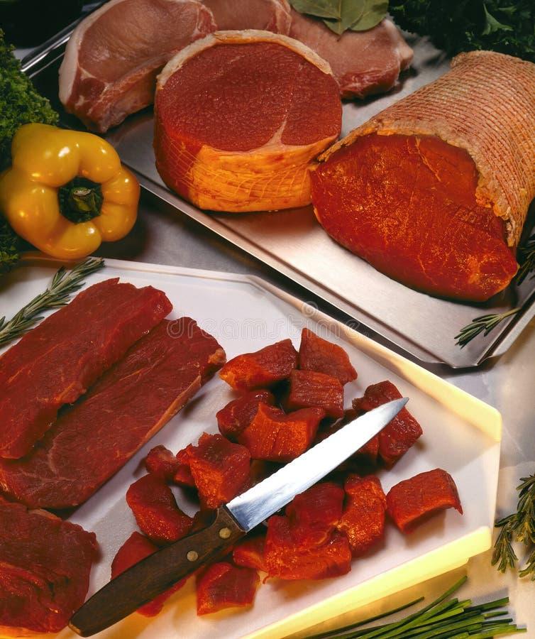 Meat - Butchers Shop stock photos