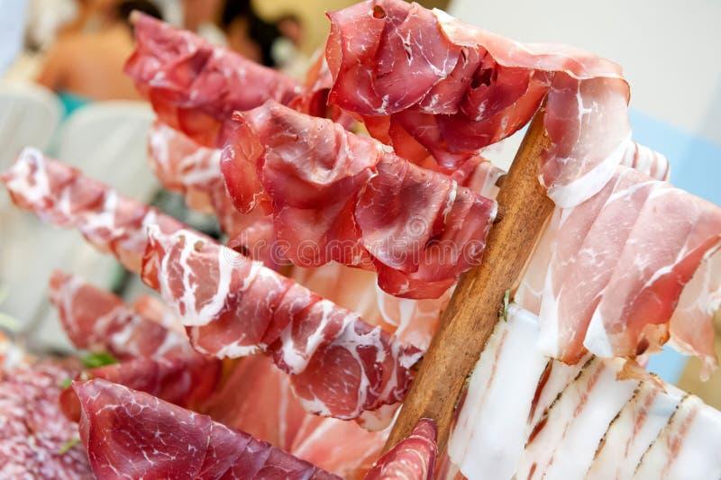 Meat delicatessen royalty free stock image