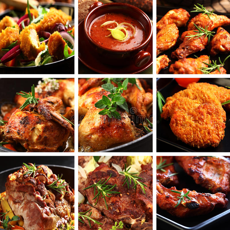 Free Meat Dishes Stock Photography - 21821652