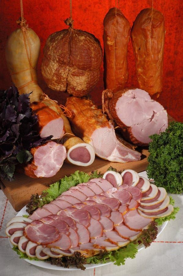 meat för 2 läckerhetar arkivfoton