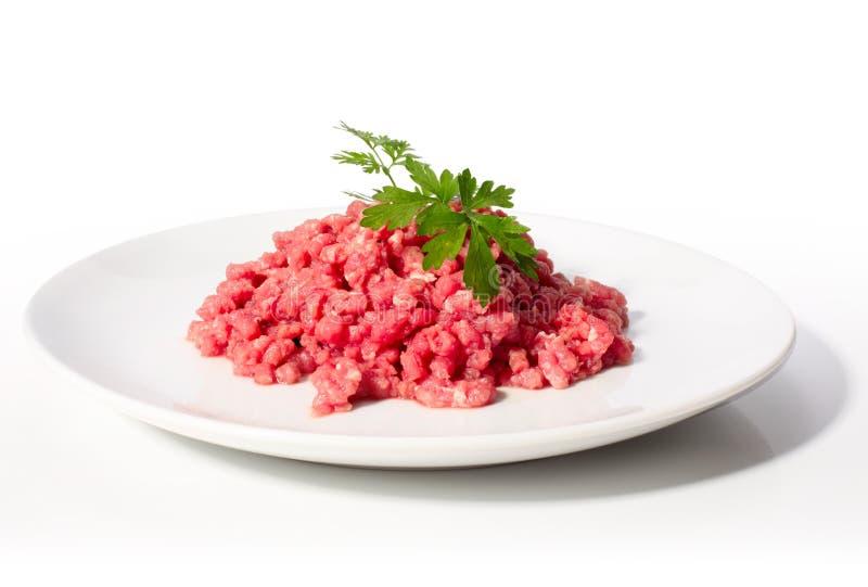 meat finhackade rått arkivbild