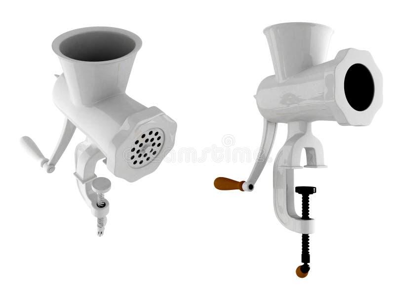 Download Meat grinder stock illustration. Illustration of desk - 20737800