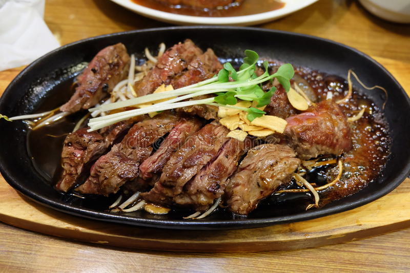 Meat , Japan, Tokyo stock photography