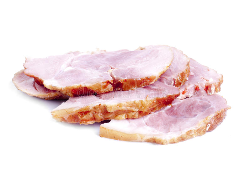 Meat product sliced royalty free stock photos