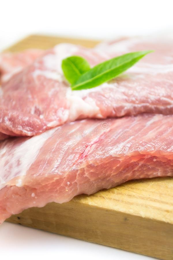 Meat, Red Meat, Bayonne Ham, Prosciutto stock image