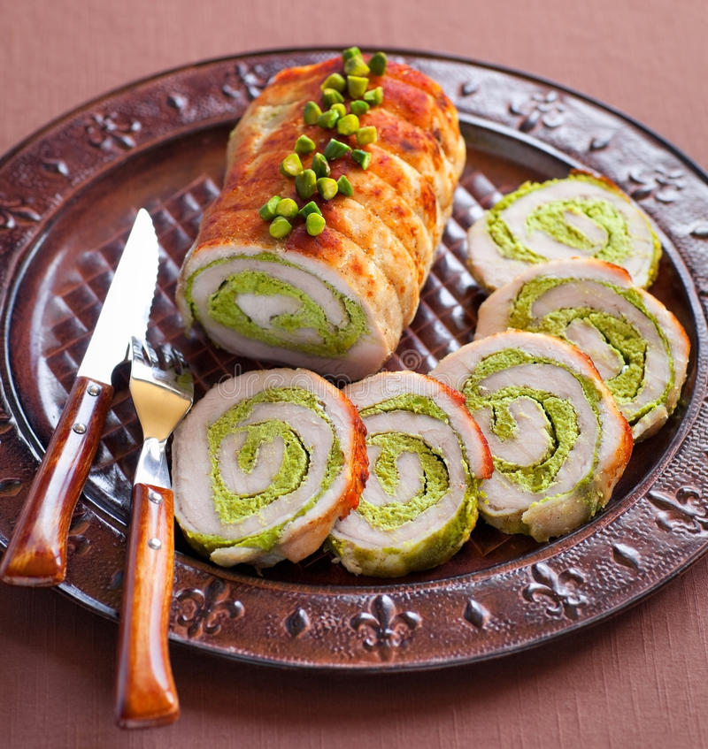 Free Meat Roulade Royalty Free Stock Images - 25235049