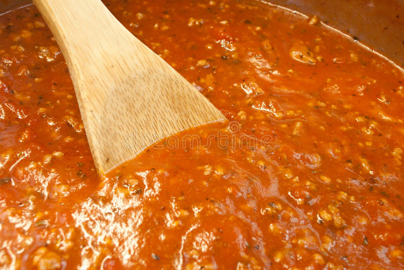 Download Meat Sauce stock photo. Image of mixed, italian, ground - 26762884