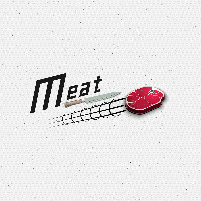 Meat store badges logos and labels for any use. For example, to design your store stock illustration